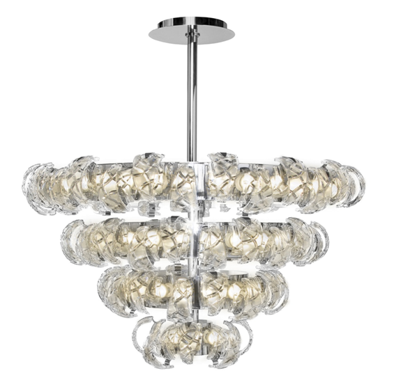 Made in Italy crystal chandelier