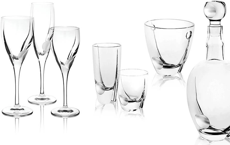 bicchieri in cristallo per la ristorazione