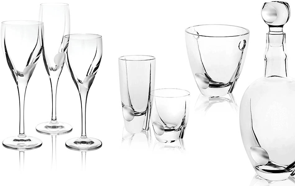 Vendita ingrosso bicchieri in cristallo