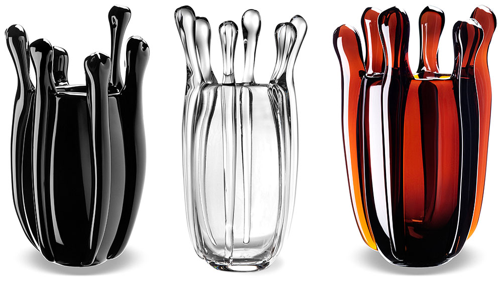 Made in Italy crystal vases